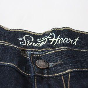 Old Navy Sweet Heart Jean Shorts Size 14